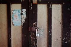Padlock (adhi anindyo) Tags: minolta a3 film kodak colorplus