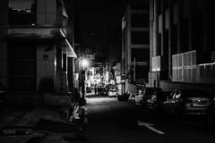 2213/1810:z (june1777) Tags: snap street alley seoul night light bokeh sony nex3 cosina voigtlander nokton 35mm f12 1600 chungmuro bw9