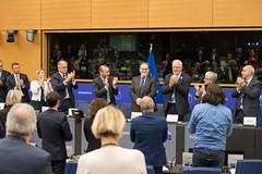 Posiedzenie grupy EPL w Strasbourgu podczas sesji plenarnej