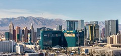 Las Vegas Strip (Karen_Chappell) Tags: travel flight flying city urban cityscape canonef24105mmf4lisusm lasvegas usa nevada architecture buildings aerial landscape hotels