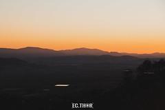 Sis mesos. (ec.thor) Tags: ifbeneixama sinosaletucaranotieneslikes sunset canon canon80d 80d eos80d sun beneixama mountain forest fire forestalfire orange paísvalencià canonistas