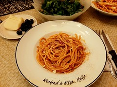 bucatini all 'amatriciana (angelinas) Tags: pasta food homecooking homemade italianfood foodporn delicious