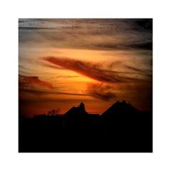 Before the night comes (b_kohnert) Tags: digitalart digitalpainting landscape sky clouds night outdoor