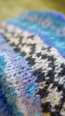 Barnejakka Land og strand (osloann) Tags: barnejakkalandogstrand landogstrand pinneguri jakke strikking knitting restegarn leftovers wool ull woollove