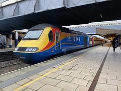 43060 (Sam Tait) Tags: class 43 hst high speed train intercity 125 emr east midlands railway railways trains leicester midland station platform passenger set power car