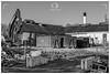 Haddington, East Lothian / Scotland (UK) - January 15, 2020: East Lothian Community Hospital, Haddington. Last days of the old Roodlands and the beginning of a new era.