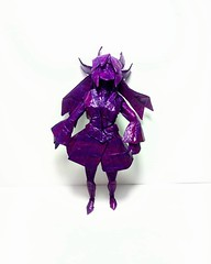 Character Design (GGIamBatman) Tags: origami papiroflexia girl anime