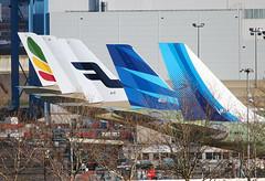 A330 Neo Kuwait Airways & A350 German Air Force (@Eurospot) Tags: kuwaitairways a330 a350 germanairforce airbus garuda finnair