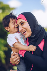 Lovely moment (Yannick Charifou Photography ©) Tags: nikon d850 afs58mm14g 14 wideopen laught laughting rire sourire moment love lovely enfant enfance bébé baby lifestyle dof depthoffield bokeh fullframe kids child childhood kid hijab muslim islam boy kind kindness famille family amour