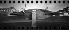 2641 Seesaw. (Monobod 1) Tags: ondu 135 panoramic ilford fp4 kodak hc110 pinhole lensless epsonv800