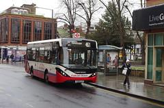 IMGP5591 (Steve Guess) Tags: kingstonuponthames kingston surrey england gb uk bus adl alexander dennis enviro 200 mmc falcon telling buses clarencestreet yx68ulr