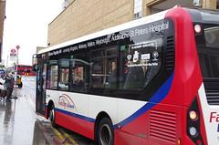 IMGP5588 (Steve Guess) Tags: kingstonuponthames kingston surrey england gb uk bus adl alexander dennis enviro 200 mmc falcon telling buses clarencestreet yx68ulr