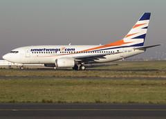 OK-SWT, Boeing 737-7Q8, 29346 / 1264, QS-TVS-Skytravel-SmartWings, CDG/LFPG 2013-12-11, on taxiway Bravo-Loop. (alaindurandpatrick) Tags: qs tvs skytravel smartwings airlines okswt 293461264 7377q8 737 737nextgen 737ng 737700 boeing boeing737 boeing737nextgen boeing737ng boeing737700 boeing7377q8 jetliners airliners airports cdg lfpg parisroissycdg aviationphotography taxishots