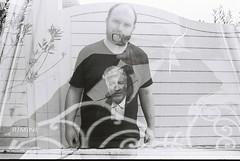 Self Portrait Multiple Exposure (goodfella2459) Tags: nikonf4 cinestillbwxx 35mm blackandwhite film analog rimini italy selfportrait multipleexposure doubleexposure abstract experimental davidlynch federicofellini bwfp