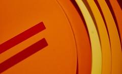 Orange hour? ;-) (paoloaddesso) Tags: ღღcosasdecasaღღ onecolor clock orange shadesoforange pentax smc takumar macro f4