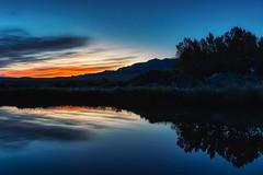 Bobcat Lake (Tony Hochstetler) Tags: nikon d850 nikon2470mmvr bobcatlake cody wyoming southfork dawn daybreak firstlight lake water mountains blue landscape horizontal