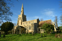 Bluntisham (scuba_dooba) Tags: bluntisham cambridgeshire village uk england nikon st marys church