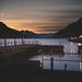 Sunset in Lake Brienz