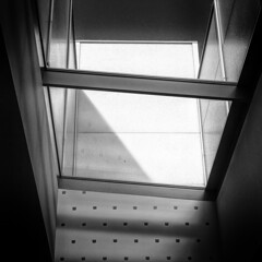 skylight (fhenkemeyer) Tags: light shadow sky window essen folkwangmuseum hww square