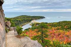 Acadia National Park (RJACBclan) Tags: acadianationalpark maine october2019 ryanduffin atlantic ocean beehive fallfoliage trees leaves
