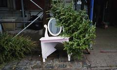 Hudson Avenue (neilsonabeel) Tags: nikonactiontouch nikon film analogue pointandshoot tree brooklyn newyorkcity street trash garbage vanity