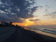 Eye Opening (apvelez) Tags: beach sunrise summer sun remember sc myrtle sea water peace