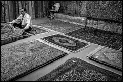 Rugs (GColoPhotographer) Tags: rug bw streephotography milano portrait bianconero street