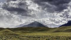 Incoming Rain (Tony Hochstetler) Tags: nikon d850 nikon2470mmvr cody wyoming southfork landscape horizontal rain clouds mountains storm