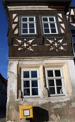 (:Linda:) Tags: germany thuringia town heldburg window four mailbox halftimbered