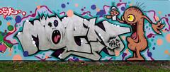 Graffiti in Amsterdam (wojofoto) Tags: amsterdam nederland netherland holland graffiti streetart wojofoto wolfgangjosten 2020 agalab moen