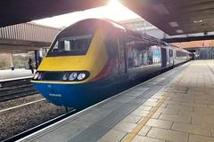 43049 (Sam Tait) Tags: class 43 hst high speed train intercity 125 emr east midlands railway railways trains leicester midland station platform passenger set power car