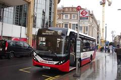 IMGP5590 (Steve Guess) Tags: kingstonuponthames kingston surrey england gb uk bus adl alexander dennis enviro 200 mmc falcon telling buses clarencestreet yx68ulr