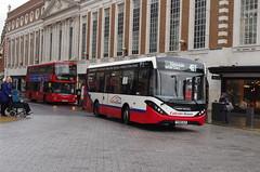 IMGP5587 (Steve Guess) Tags: kingstonuponthames kingston surrey england gb uk bus adl alexander dennis enviro 200 mmc falcon telling buses woodstreet bentalls yx68ulr