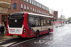 IMGP5592 (Steve Guess) Tags: kingstonuponthames kingston surrey england gb uk bus adl alexander dennis enviro 200 mmc falcon telling buses clarencestreet yx68ulr