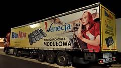 PL - BudMat >Nenecja< Renault Range T (BonsaiTruck) Tags: budmat nenecja renault range nacht night nuit lkw lastwaegn lastzug truck trucks lorry lorries camion caminhoes