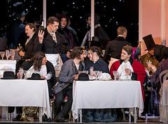 Production photo of La bohème, The Royal Opera ©2020 ROH. Photograph by Tristram Kenton (Royal Opera House Covent Garden) Tags: laboheme roh royaloperahouse labohème puccini production productionphoto byrichardjones charlescastronovo sonyayoncheva gyulanagy peterkellner