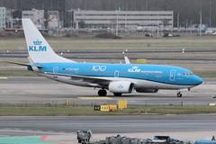 PH-BGF (vriesbde) Tags: amsterdamschiphol amsterdam schiphol eham ams phbgf boeing7377k2winglets boeing7377k2 boeing737700 boeing737 boeing 7377k2 737700 737 winglets grotezilverreiger greatwhiteheron klm 100