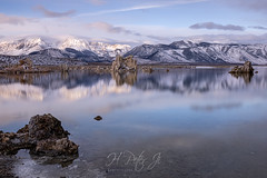 I had to act fast (ScorpioOnSUP) Tags: a7riv california christmasday christmasday2019 easternsierra monolake mtwarren sierranevada sonya7riv sonyalpha southtufa tufatowers chasinglight chasingsunrise clouds lake landscape landscapephotography longexposure mountains reflections rockformations solitude sunlight sunrise winter