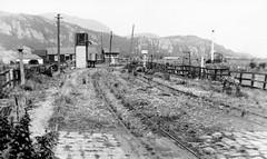 gwynedd - temp whr terminus portmadoc oou c1938 (johnmightycat1) Tags: railway rheilffordd narrowgauge wales cymru
