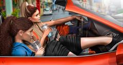 Sporty Vibes (meriluu17) Tags: foxcity girls sport sportz fast furious car drive people portrait drinkl drink girlz sisters sisi tetra