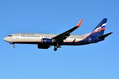 VP-BSB Boeing 737-8MC Aeroflot (BRU/EBBR) (geoffrey.zdcki) Tags: bru brussels belgium brusselsairport bruxelles belgique spotting spotter nikon aviation avion landing ebbr boeing vpbsb aeroflot 738 7378mc