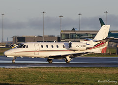 NetJets Cessna 560XL Citation CS-DXU (birrlad) Tags: dublin dub international airport ireland aircraft aviation airplane airplanes bizjet private passenger jet taxi taxiway takeoff departing departure runway csdxu cessna 560xl citation xls c56x fraction netjets