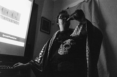 Erik (Zack Huggins) Tags: ricohgrii vscofilm pack06 dallastx oakclifftx portrait availablelight lowlight highiso fridaythe13th projectorseason monaplex projector movienight jasonvorhees sweater beer chug home house livingroom friendship blanket rnifilms pointandshoot compact digitalcompact advancedcompact raw wideangle handheld