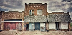 IOOF...(HWW) (BillsExplorations) Tags: ghosttown abandoned forgotten closed shuttered ioof old vintage windowwednesday hww weathered rustic oklahoma