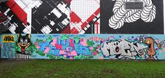 Graffiti in Amsterdam (wojofoto) Tags: amsterdam nederland netherland holland graffiti streetart wojofoto wolfgangjosten 2020 agalab moen getone maty