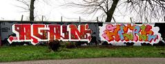 Graffiti in Amsterdam (wojofoto) Tags: amsterdam nederland netherland holland graffiti streetart wojofoto wolfgangjosten 2020 again jerk