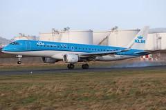 KLM Cityhopper PH-EZC BHD 15/01/20 (ethana23) Tags: planes planespotting aviation avgeek aircraft aeroplane airplane embraer e190 190 klm cityhopper