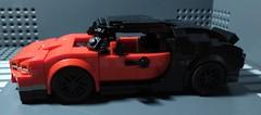 Lego Bugatti Chiron 8 stud wide (2) (Parm Brick) Tags: lego legospeedchampions legobugatti legobugattichiron lego8studwide moc mod afol legocar legosupercar supercar