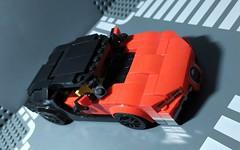 Lego Bugatti Chiron 8 stud wide (Parm Brick) Tags: lego legospeedchampions legobugatti legobugattichiron lego8studwide moc mod afol legocar legosupercar supercar