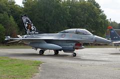 Belgium - Air Force General Dynamics F-16BM Fighting Falcon FB-24 (1987-2017 30th anniversary of OCU) (EK056) Tags: belgium air force general dynamics f16bm fighting falcon fb24 19872017 30th anniversary ocu kleine brogel base ebbl